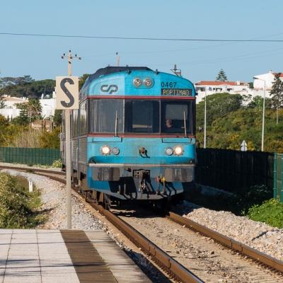 Train on the Algarve